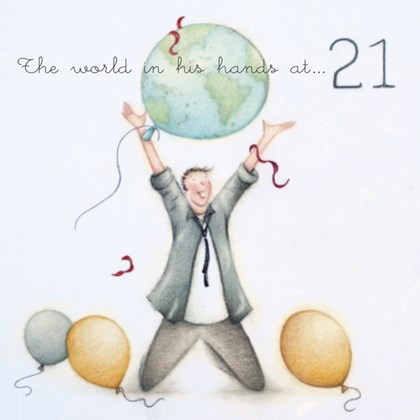 ML08 - The world is in his hands at 21