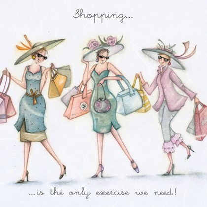 LL227 - Shopping is the only exercise