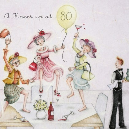 A Knees up at 80