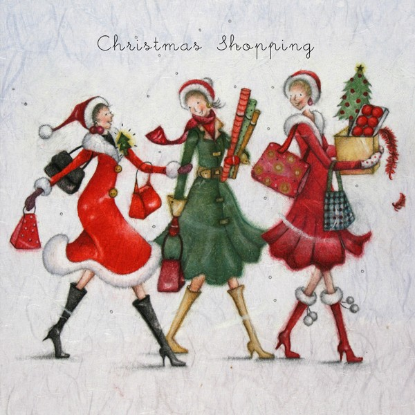 Cards Christmas Shopping Christmas Shopping Berni Parker Designs