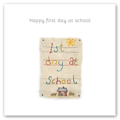 Happy first day at school