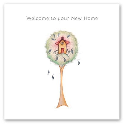 Cards welcome to your new home welcome to your new for Designing your new home