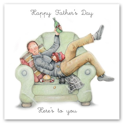 Happy Fathers Day - Here's to you