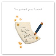 You passed your exam