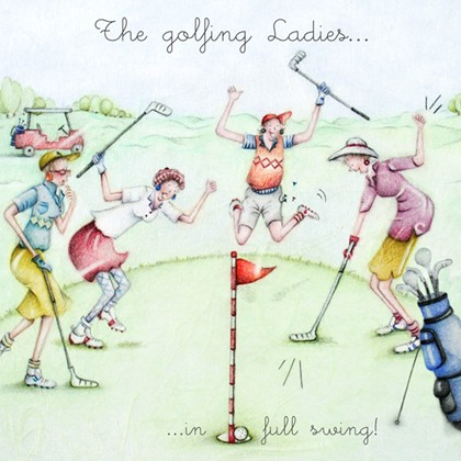 The Golfing Ladies