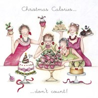 NC-06 - Christmas Card Boxset - Christmas Calories