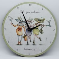 GOCC01 It's Gin O Clock - Wall Clock