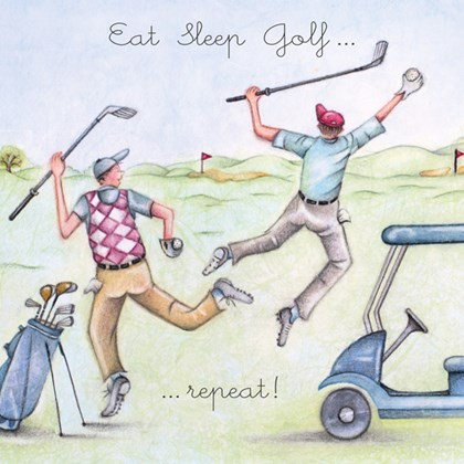 ML107 - Eat Sleep Golf Repeat